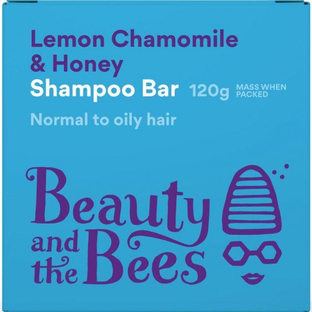 Lemon Chamomile & Honey Shampoo Bar