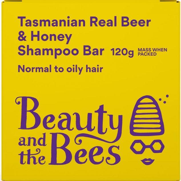 Tasmanian Real Beer & Honey Shampoo Bar (Unscented)