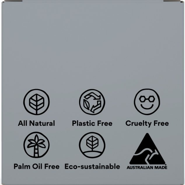 Voodoo Activated Charcoal & Honey Shampoo Bar (Liquorice & mint)